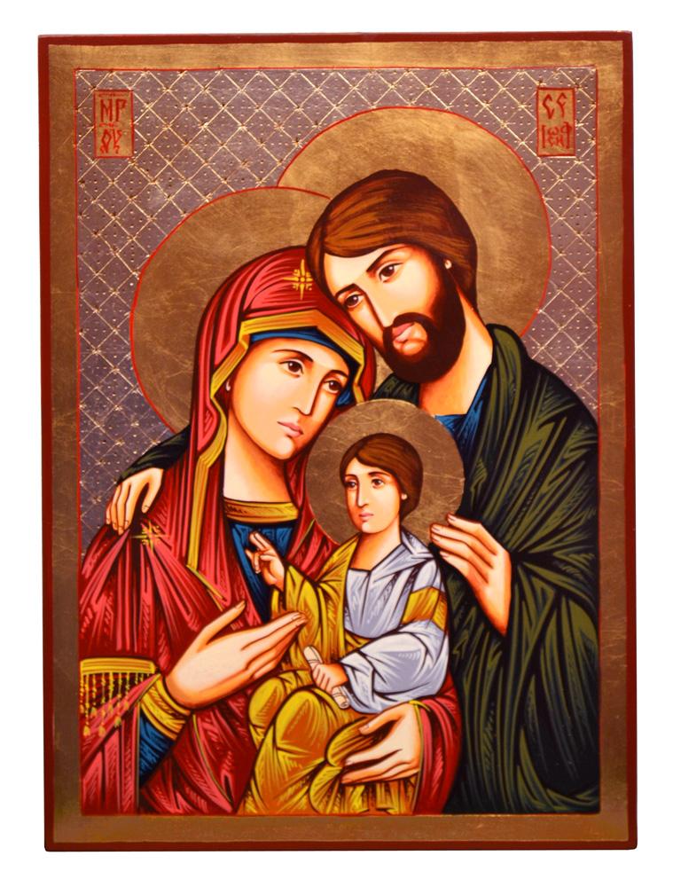 Icona Sacra Famiglia 211015 Byzant Italia