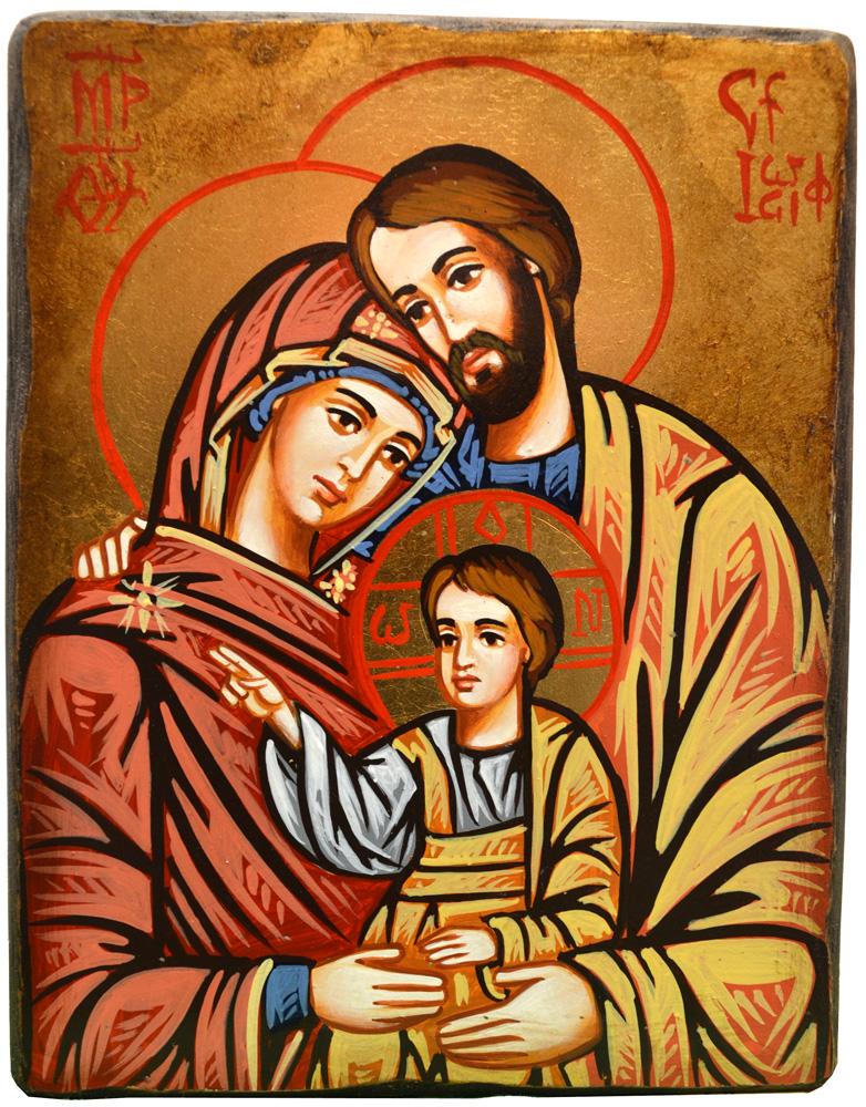 Icona Sacra Famiglia 1022 Byzant Italia