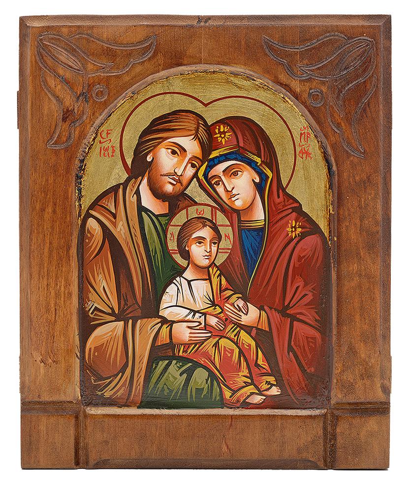 Icona Sacra Famiglia 2019 Byzant Italia